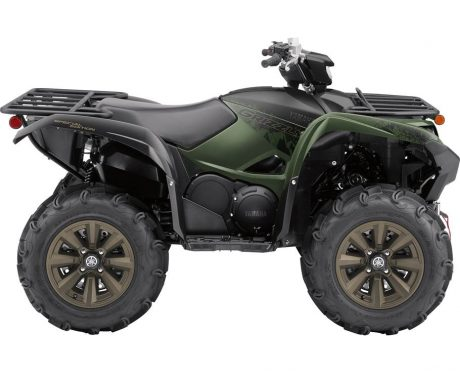 2021 Yamaha GRIZZLY EPS SE COVERT GREEN